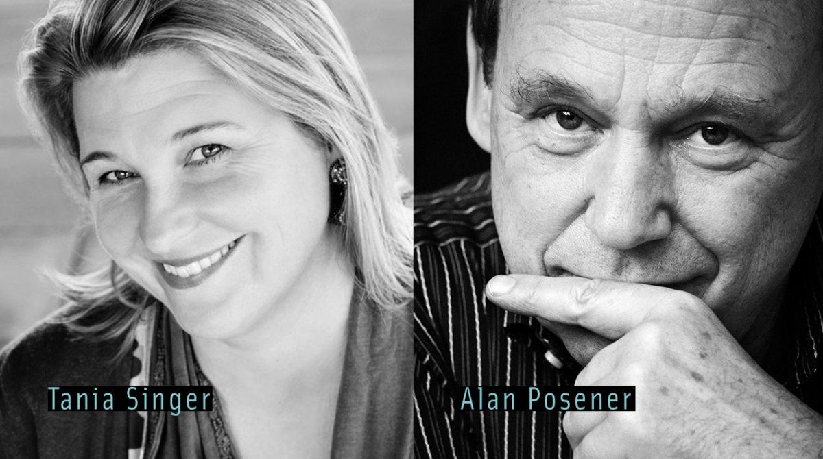 Tania Singer und Alan Posener